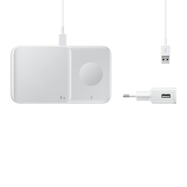 wireless chargers - samsung duo wireless charger ep-p4300tw white - 6 - krytaren.sk