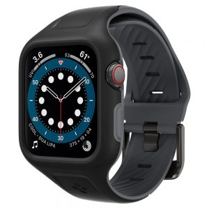 Apple Watch - Spigen Liquid Air Pro Apple Watch SE/6/5/4 44mm Black - 1 - krytaren.sk