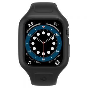 Apple Watch - Spigen Liquid Air Pro Apple Watch SE/6/5/4 44mm Black - 2 - krytaren.sk