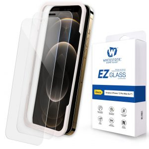 iPhone 12 Pro Max - Whitestone EZ Glass Apple iPhone 12 Pro Max [2 PACK] - 1 - krytaren.sk