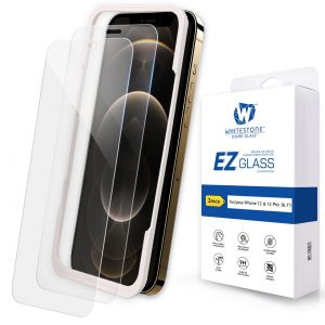 iPhone 12 Pro - Whitestone EZ Glass Apple iPhone 12/12 Pro [2 PACK] - 1 - krytaren.sk