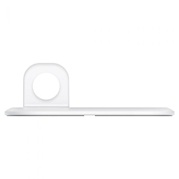 wireless chargers - spigen magfit duo apple magsafe & apple watch charger stand white - 5 - krytaren.sk