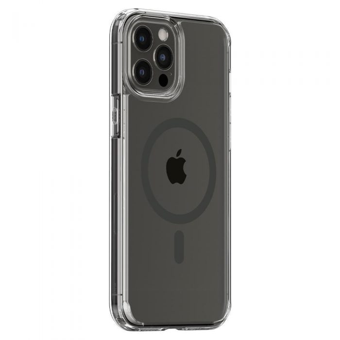 iphone 12 pro max - spigen ultra hybrid mag magsafe apple iphone 12 pro max graphite - 9 - krytaren.sk