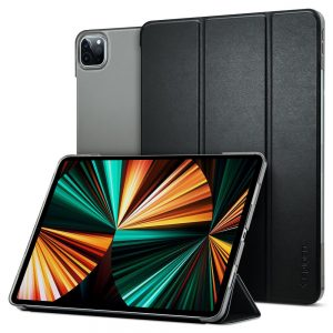 2020) - Spigen Smart Fold Apple iPad Pro 12.9 2021 Black - 1 - krytaren.sk