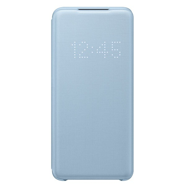 s20 - samsung galaxy s20 ef-ng980pl sky blue led view cover - 1 - krytaren.sk