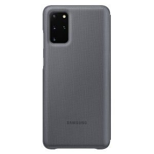 S20 Plus - Samsung Galaxy S20+ Plus EF-NG985PJ gray LED View Cover - 2 - krytaren.sk