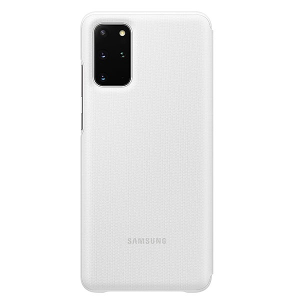 s20 plus - samsung galaxy s20+ plus ef-ng985pw white led view cover - 2 - krytaren.sk