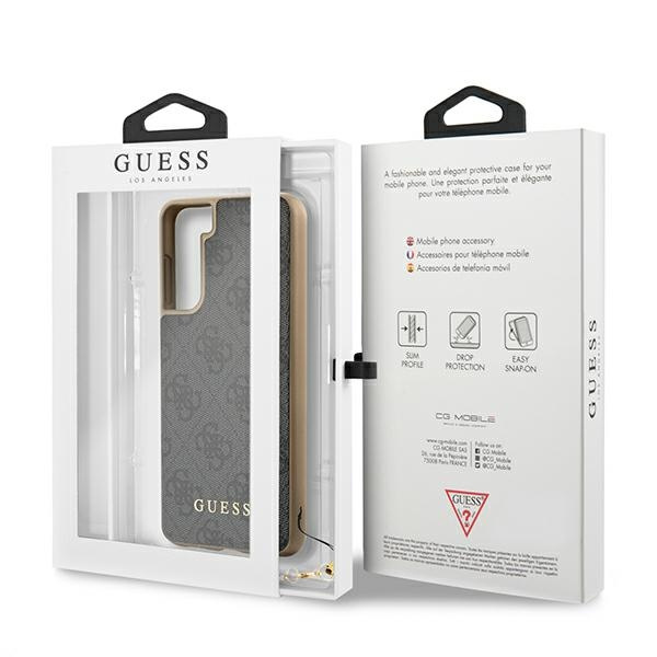 s21 plus - guess guhcs21mgf4ggr samsung galaxy s21+ plus grey hardcase 4g charms collection - 8 - krytaren.sk