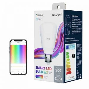 Lighting - Yeelight LED Smart Bulb W3 (color) - 1 - krytaren.sk