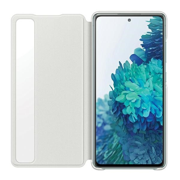 s20 fe - samsung galaxy s20 fe ef-zg780cwegee white clear view cover - 3 - krytaren.sk