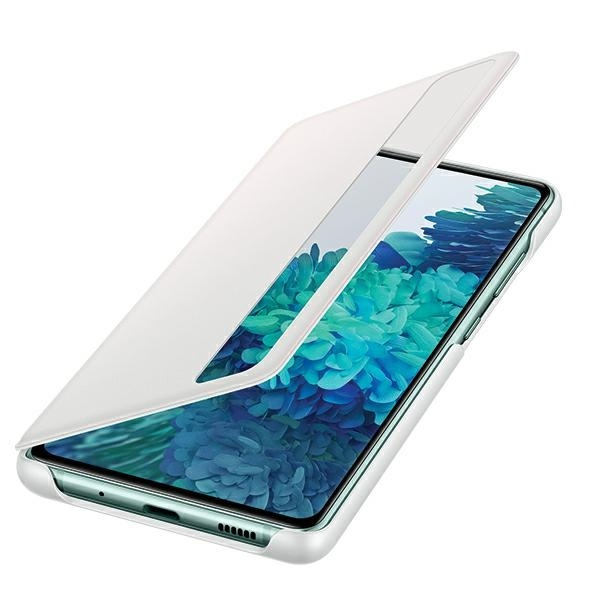 s20 fe - samsung galaxy s20 fe ef-zg780cwegee white clear view cover - 4 - krytaren.sk