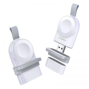 Wireless chargers - Ugreen Apple Watch USB MFI wireless charger white (50944) - 1 - krytaren.sk