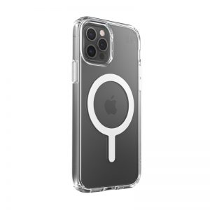 iPhone 12 Pro - Speck Presidio Perfect Clear + Magsafe Apple iPhone 12/12 Pro Case with MICROBAN (Clear) - 2 - krytaren.sk