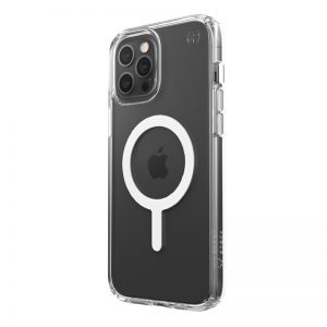 iPhone 12 Pro Max - Speck Presidio Perfect Clear + Magsafe Apple iPhone 12 Pro Max case with MICROBAN (Clear) - 1 - krytaren.sk
