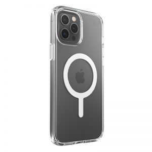 iPhone 12 Pro Max - Speck Presidio Perfect Clear + Magsafe Apple iPhone 12 Pro Max case with MICROBAN (Clear) - 2 - krytaren.sk