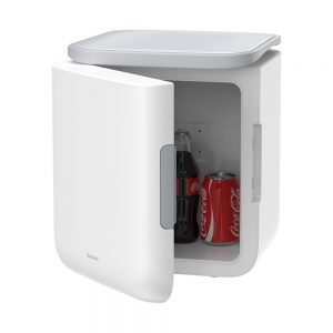 Other accessories - Baseus Igloo Mini Fridge for Students 6L EU (Cooler and Warmer) (ACXBW-A02) White - 1 - krytaren.sk