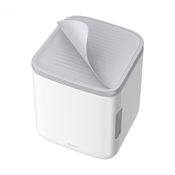 other accessories - baseus igloo mini fridge for students 6l eu (cooler and warmer) (acxbw-a02) white - 4 - krytaren.sk