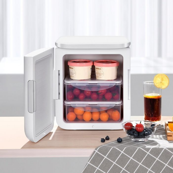 other accessories - baseus igloo mini fridge for students 6l eu (cooler and warmer) (acxbw-a02) white - 8 - krytaren.sk