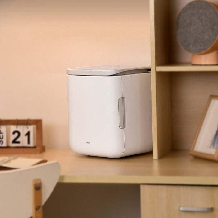 other accessories - baseus igloo mini fridge for students 6l eu (cooler and warmer) (acxbw-a02) white - 9 - krytaren.sk