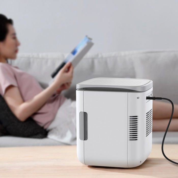 other accessories - baseus igloo mini fridge for students 6l eu (cooler and warmer) (acxbw-a02) white - 10 - krytaren.sk