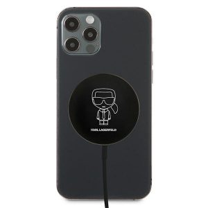 Wireless chargers - Karl Lagerfeld Wireless Charger KLCBMSIKBK 15W MagSafe - 2 - krytaren.sk