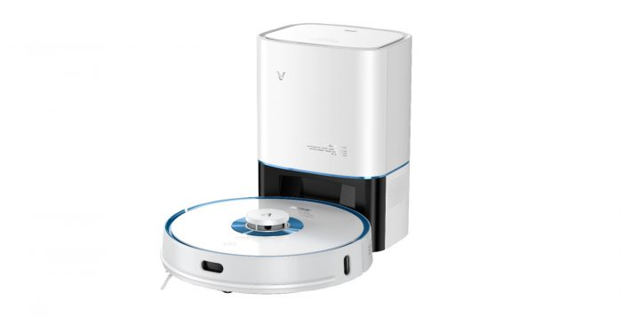 cleaning & disinfection - intelligent vacuum cleaner viomi s9-uv with emptying station (white) - 1 - krytaren.sk