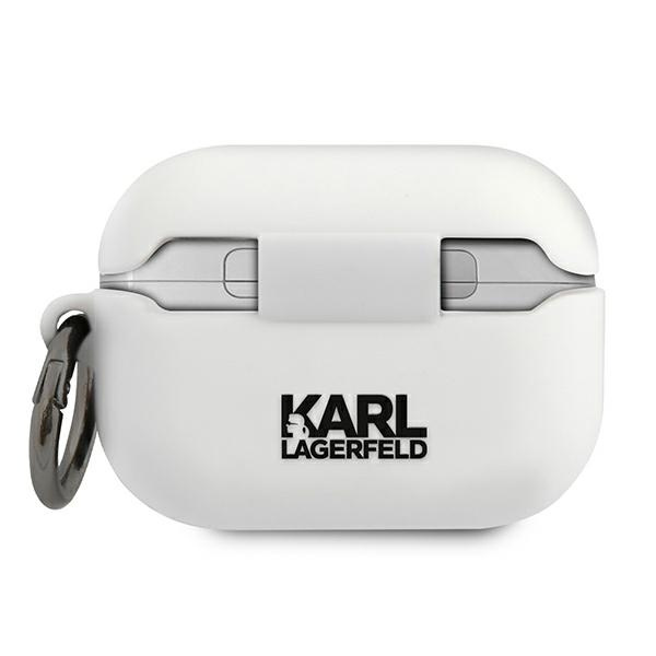airpods - karl lagerfeld klacapsilrsgwh apple airpods pro cover white silicone rsg - 2 - krytaren.sk