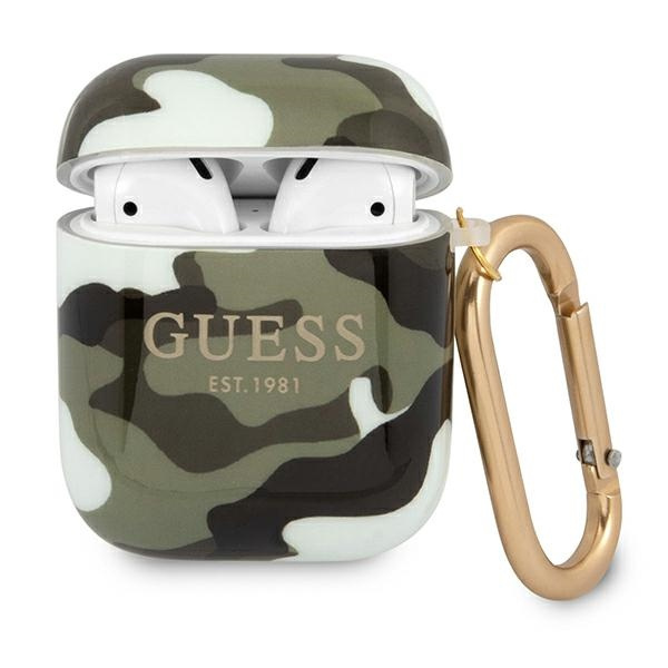 airpods - guess gua2ucama apple airpods cover khaki camo collection - 1 - krytaren.sk