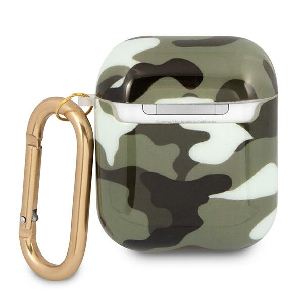 airpods - guess gua2ucama apple airpods cover khaki camo collection - 3 - krytaren.sk