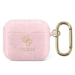 AirPods - Guess GUA3UCG4GP Apple AirPods 3 cover pink Glitter Collection - 1 - krytaren.sk