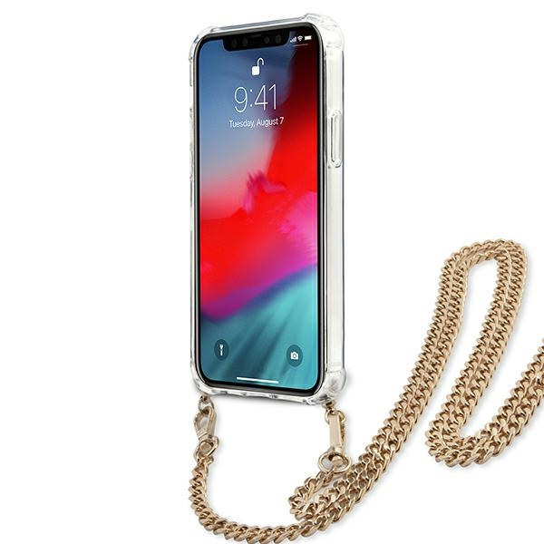 iphone 12 pro max - guess guhcp12lkcleo apple iphone 12 pro max leopard hardcase gold strap - 5 - krytaren.sk