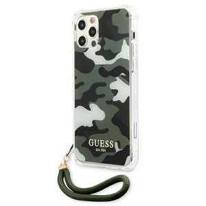 iPhone 12 Pro Max - Guess GUHCP12LKSMAGR Apple iPhone 12 Pro Max grey hardcase Marble Collection - 1 - krytaren.sk