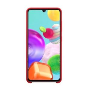 A41 - Samsung Galaxy A41 EF-PA415TR red Silicone Cover - 2 - krytaren.sk