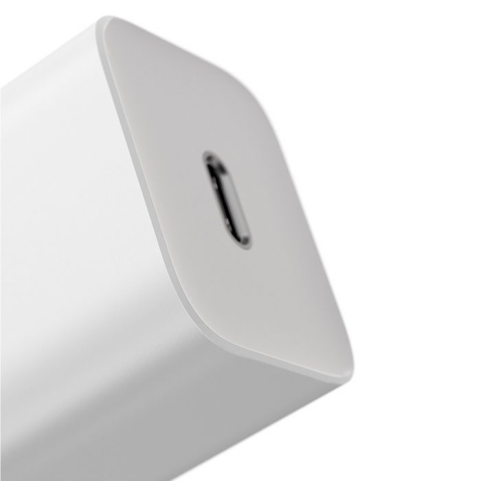 wall chargers - baseus super si quick charger 1c 25w with usb-c cable for usb-c 1m (white) - 6 - krytaren.sk