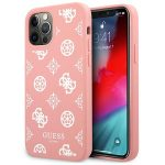 iPhone 12 Pro - Guess GUHCP12MLSPEWPI Apple iPhone 12/12 Pro pink hard case Peony Collection - 1 - krytaren.sk