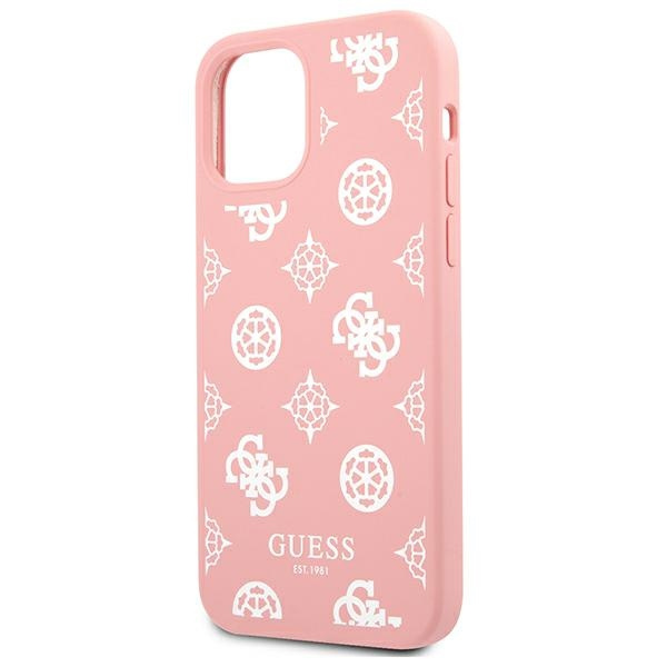 iphone 12 pro - guess guhcp12mlspewpi apple iphone 12/12 pro pink hard case peony collection - 6 - krytaren.sk