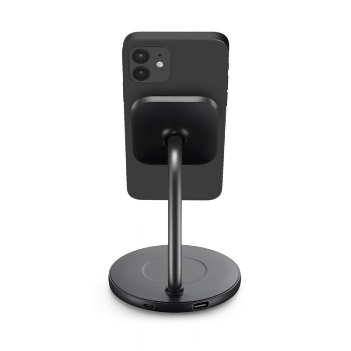 mounts - puro fast charger 2in1 mag charging stand - 3 - krytaren.sk