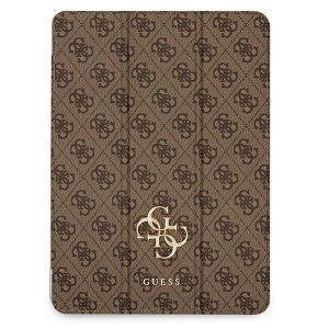 iPad Pro 12.9 - Guess GUIC12G4GFBR Apple iPad Pro 12.9 2021 Book Cover brown 4G Collection - 1 - krytaren.sk