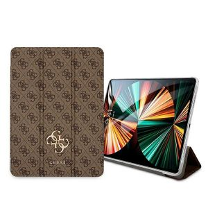 iPad Pro 12.9 - Guess GUIC12G4GFBR Apple iPad Pro 12.9 2021 Book Cover brown 4G Collection - 2 - krytaren.sk