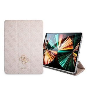 iPad Pro 12.9 - Guess GUIC12G4GFPI Apple iPad Pro 12.9 2021 Book Cover pink 4G Collection - 2 - krytaren.sk