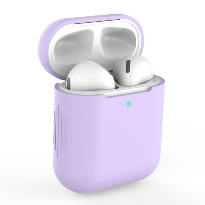 airpods - tech-protect icon apple airpods violet - 1 - krytaren.sk