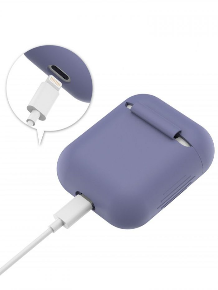 airpods - tech-protect icon apple airpods violet - 3 - krytaren.sk