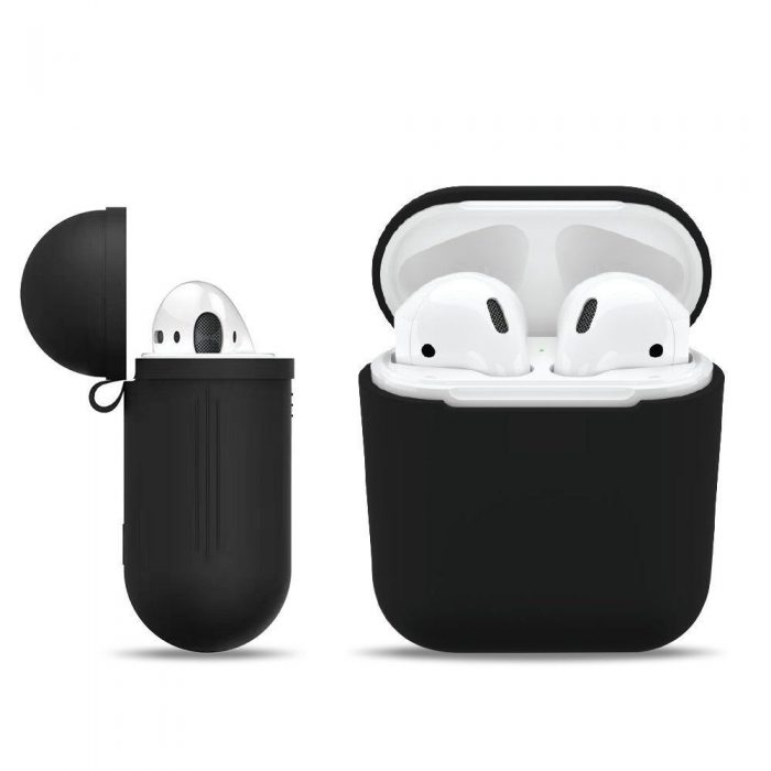 airpods - tech-protect iconset apple airpods white - 3 - krytaren.sk