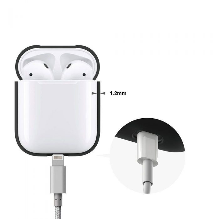 airpods - tech-protect iconset apple airpods white - 4 - krytaren.sk