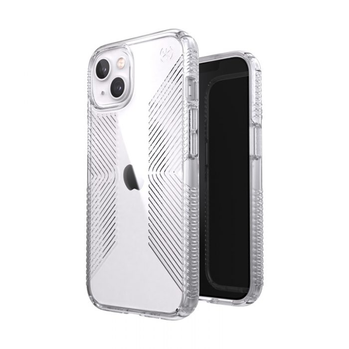 iphone 13 - speck presidio perfect-clear grips microban apple iphone 13 (clear) - 7 - krytaren.sk