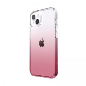 iPhone 13 - Speck Presidio Perfect-Clear Ombre MICROBAN Apple iPhone 13 (Clear/Vintage Rose) - 1 - krytaren.sk