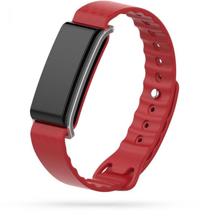 watch/band - tech-protect smooth huawei band a2 red - 1 - krytaren.sk