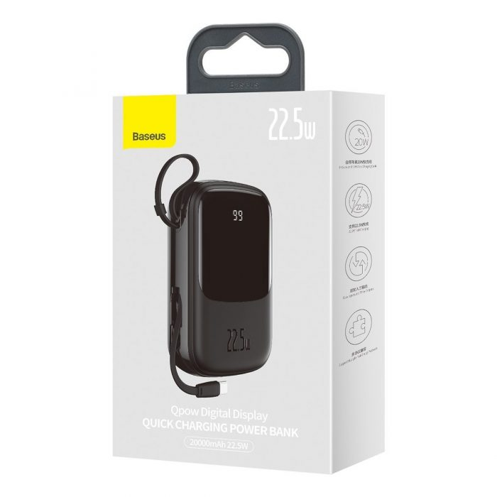 22.5w with type-c cable (black) - 2 - krytaren.sk