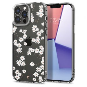 iPhone 13 Pro Max - Spigen Cyrill Cecile Apple iPhone 13 Pro Max White Daisy - 1 - krytaren.sk