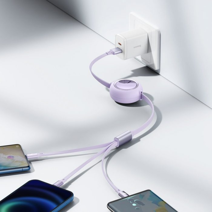 3in1 - usb cable 3in1 baseus bright mirror